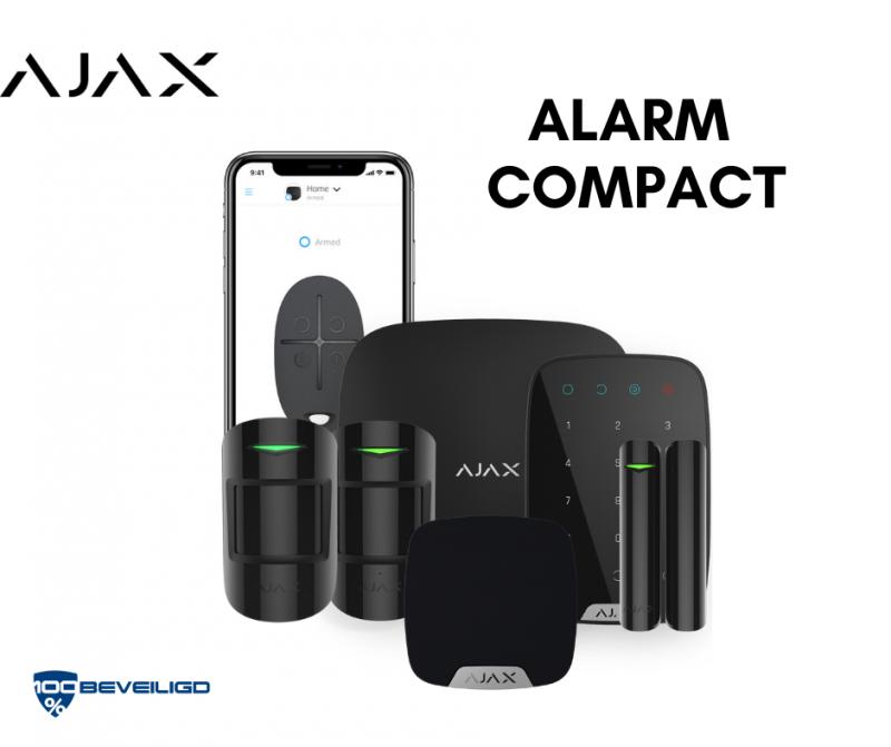 Draadloos alarmsysteem ajax systems alarm compact