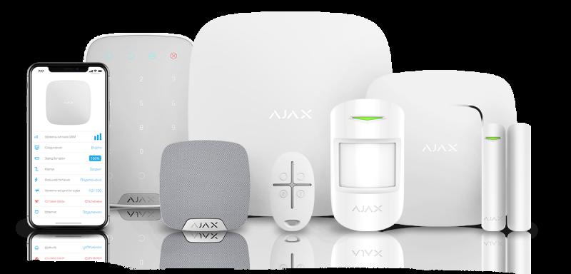 Draadloos alarmsysteem van het merk ajax systems